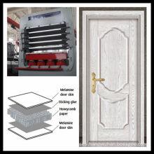 DY1200T-4X8-Laminated melamine door skin hot presses/ Molded door skin presses
