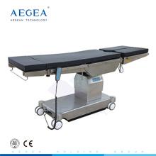 Mesa de operaciones del tratamiento de la cirugía del paciente médico de los movimientos eléctricos AG-OT030 para la venta