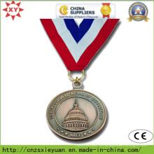 Индивидуальный логотип круглый спортивный металл Medalet