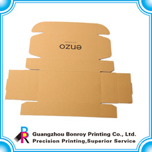 Фабрика Гуанчжоу подгонянная бумажная коробка ботинка коричневого корабля