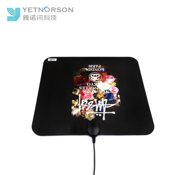 High Signal Flat Thin Design Indoor Amplified HDTV Antenna 50 Miles