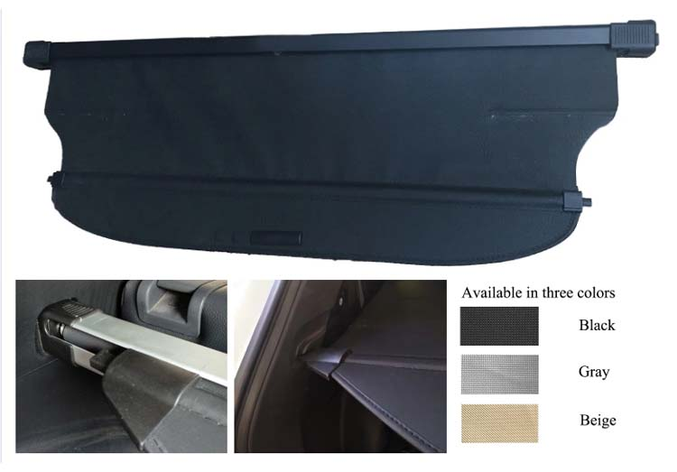 SUV Trunk Retractable Cargo Cover