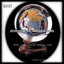 bonita bola de cristal k9 K047