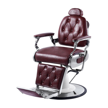 Chaise de barbier inclinable