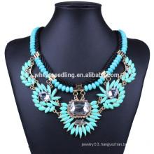 Big stone china wholesale boho bead choker necklace