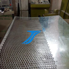 Polish Stainless Steel Perforated Sheet Metal