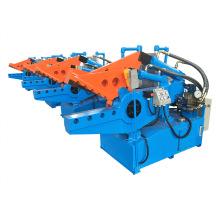 Máquina de corte de moldura de alumínio com design de integração