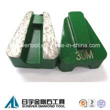 Boden Sie Schleifen Scanmaskin Diamantsegment