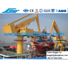 Ore Sand Fly Ash Port Carga y descarga Hydraulic E Crane