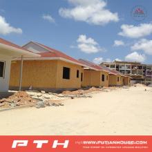 Prefabricated Light Steel Structure Villa House Project in Gabon