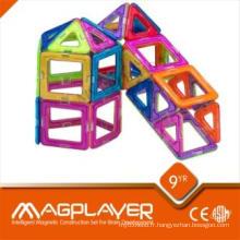 Jouets éducatifs préscolaires Building Blocks Puzzles magnétiques pour la maternelle