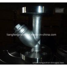 Carbon Steel Y-Strainer of Flange End RF