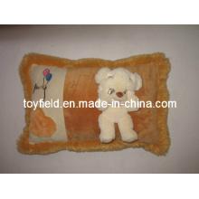 Animal Head Cushion Plush Stuffed Cartoon Pillow