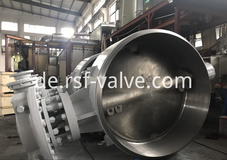 Triple Offset Butterfly Valve Bw Ends 1