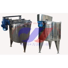 Stainless Steel Mixing Tank Single Layer Structure Blending Vessel