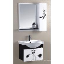 Cabinet de salle de bains de PVC de 60cm (P-011)