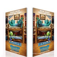 Edgelight AF18 LED backlight frameless single side fabric/canvas/textile aluminum profile frame light box