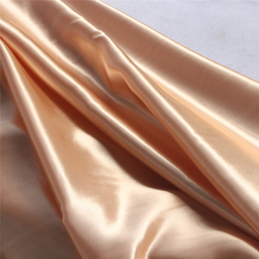 Soft Polyester Satin Fabric Africa Satin