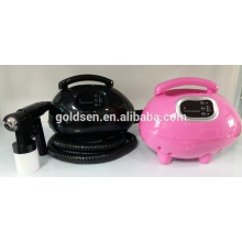 Casa Mini Body Bronzeamento máquina Máquina de lavar roupa Handheld HVLP Tan Spray Gun Portátil Indoor Professional Spray Tanning System