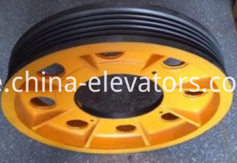 TYS Traction Sheave for Hitachi Elevators