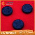 folha de máscara facial comprimido de carvão de bambu preto