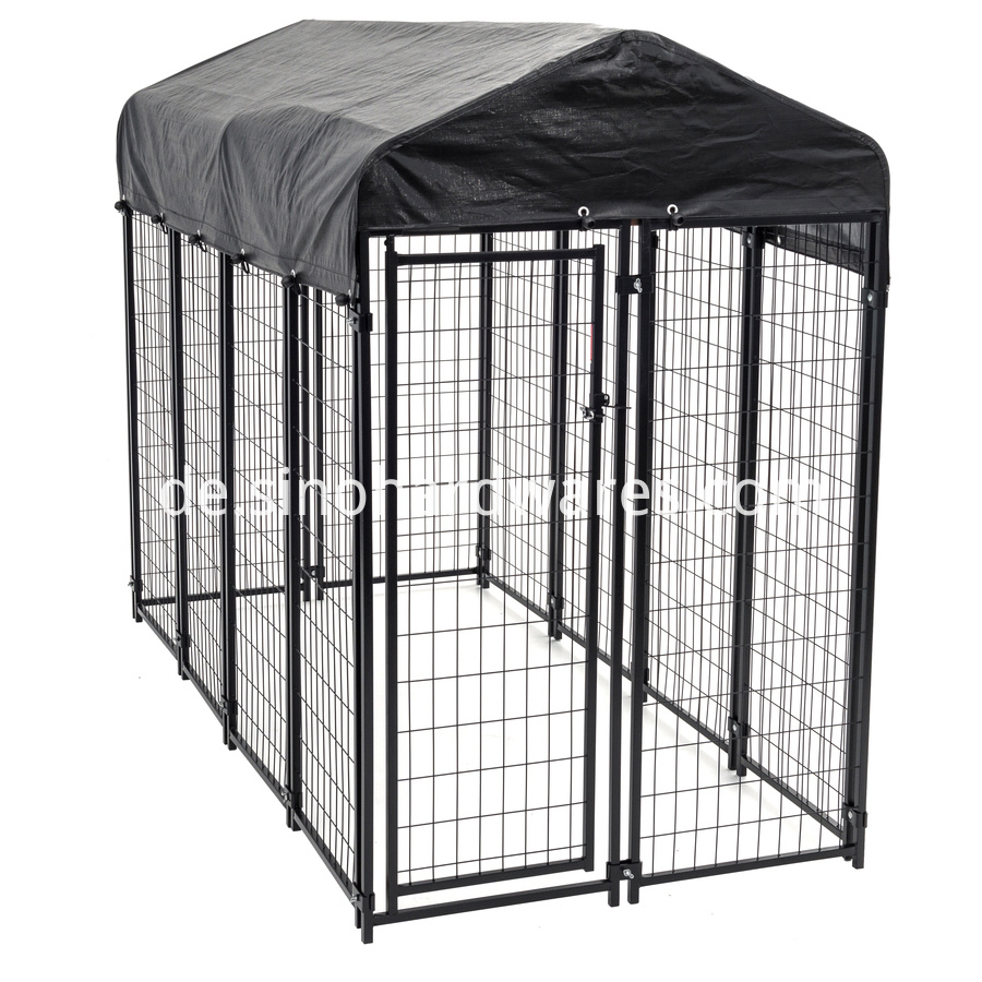 modular dog kennel