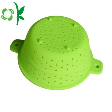 Silicone Filter Kitchenware Basket for Food Opvouwbaar