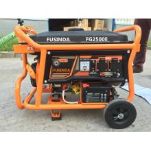 Groupe électrogène à essence portable 2kw pour la veille à la maison avec Ce / Saso / CIQ / ISO / Soncap
