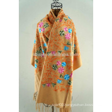 Fashion women winter embroidery scarf