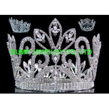 Klassische runde tiara