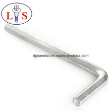 Factory Price White Zinc Plated Allen Wrench with High Quality