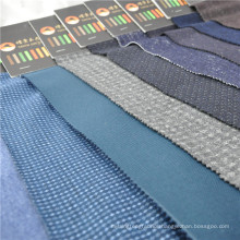 polyester wool knitted stretch fabric wool knit fabric for jacket