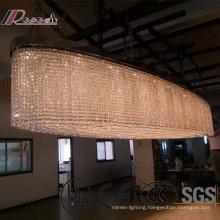 European Decorative Pendant Lamp K9 Luxury Crystal Chandelier