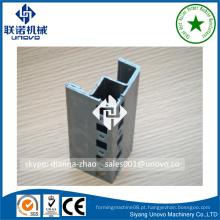 Armação de gabinete nove dobras de tubo de aço de forma oval