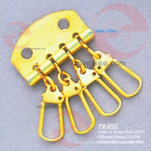 Gold Metal Accessories of Key Holder Wallet (P2-25S)