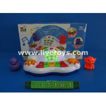 Musical instrumento de teclado de juguete, juguetes musicales (737101)