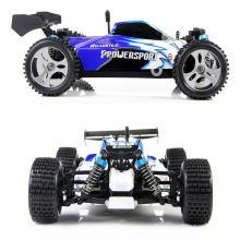Jouets contrôlés à distance à grande vitesse de voiture de Buggy de RC hors route de l'échelle 4WD