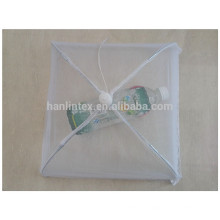 white polyester food cover mesh fly food cover square size food cover