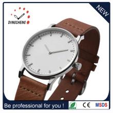 Reloj de cuero de las señoras de la correa de los relojes del cuero del OEM (DC-077)
