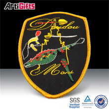 Wholesale cheap embroidery patches fabric for apparel accessories
