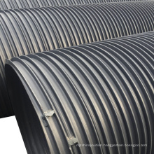 spiral polythene dwc hdpe corrugated sewer pipes