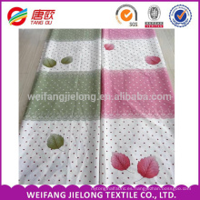 Patrón de color de la hoja de arce que imprime la tela 100% del lecho de algodón