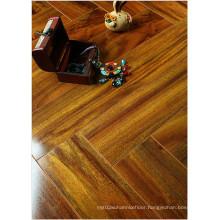 12.3mm HDF Mirror Maple Sound Absorbing Laminated Floor