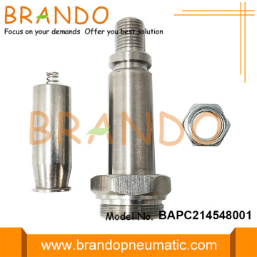NC NBR Seal Stainless Steel Plunger Tube M20
