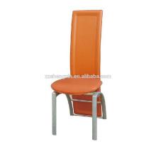 Chaise de salle à manger à dossier banquet, chaise de salle à manger en PVC de qualité supérieure pour hôtel