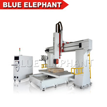 3D Wooden Carving 5 Axis CNC Router 1224
