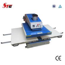 Machine pneumatique de presse de la chaleur de double station