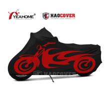 Capa com impressão de sublimação full dye capa elástica à prova de poeira para motocicleta