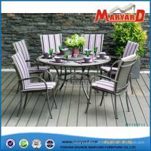 Móveis de luxo Guangdong Cast Aluminum Chair