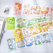 Hand-Drawn Design Paper Washi Tape Decoratable